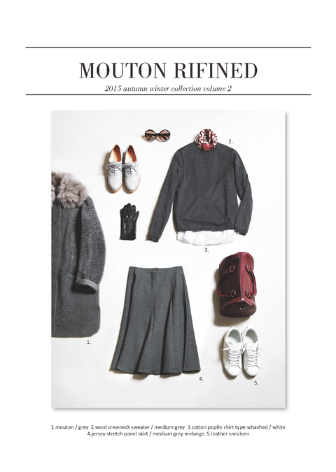 フォンタナマジョーレ 2015 AUTUMN/WINTER MOUTON COLLECTION 08